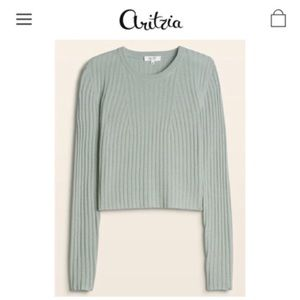 BABATON | Aritzia Nathaniel Wool Crop Sweater